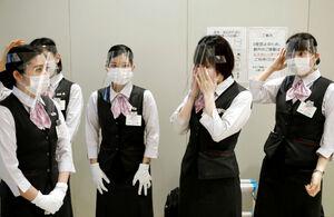 مقابله با کرونا در مراکز تجاری ژاپن