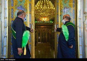 مراسم بازگشایی حرم مطهر حضرت شاهچراغ (ع)