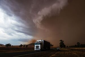 طوفان در استرالیا