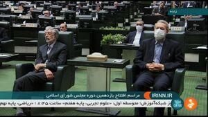 عکس/ دو رئیس مجلس در ادوار گذشته در یک قاب