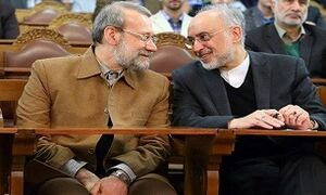 قدردانی رییس سازمان انرژی اتمی از لاریجانی