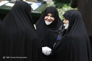 عکس/ حضور نمایندگان زن در مراسم افتتاحیه مجلس