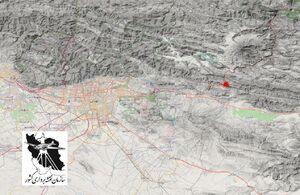 محل وقوع زلزله امروز در تهران+عکس