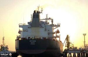 فیلم/ ورود سومین نفتکش ایرانی به آبهای ونزوئلا