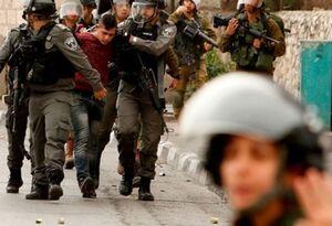 فیلم/ رجز شجاعانه جوان فلسطینی مقابل صهیونیستها