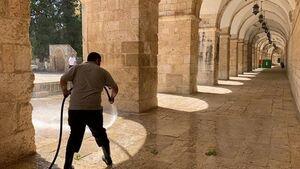 درهای مسجدالاقصی به روی نمازگزاران باز میشوند