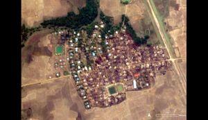 تصاویر ماهوارهای از نسلکشی مسلمانان روهینگیا
