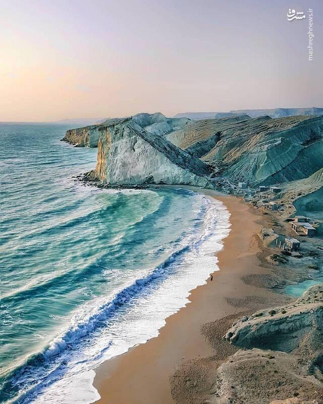 ساحل دیدنی استان هرمزگان