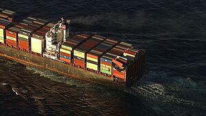 منفجر شدن کشتی یونانی در نزدیکی آبهای عربستان