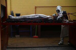 عکس/ کوره جسدسوزی فوتیهای کرونا