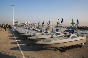عکس/ تحویل شناورهای تندرو وزارت دفاع به سپاه