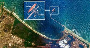 تصویرماهوارهای از نفتکش ایرانی در ونزوئلا