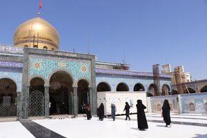عکس/ بازگشایی حرم حضرت زینب (س)