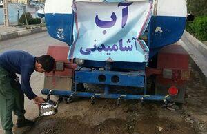 سپاه خوزستان برای تامین آب غیزانیه پای کار آمد