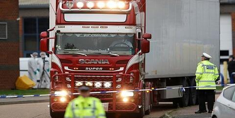 بازداشت ۲۶ نفر در ارتباط با «کامیون مرگ» در اروپا