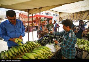 عکس/ بازگشایی بازار هفتگی آققلا
