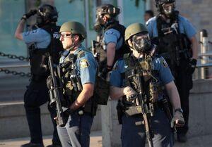 فیلم/ ورود گارد ویژه آمریکا برای سرکوب معترضان مینیاپولیس