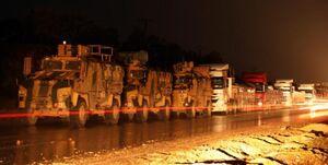 ترکیه باز هم به سوریه تجهیزات نظامی ارسال کرد