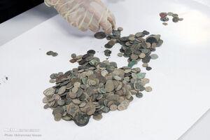 141 سکه عتیقه در شهر ری کشف شد