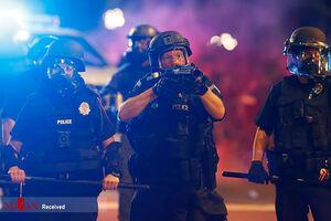 عکس/ وضعیت شهرهای آمریکا پس از قتل مرد سیاهپوست