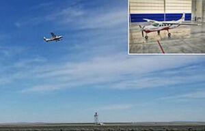 پرواز بزرگترین هواپیمای برقی در جهان
