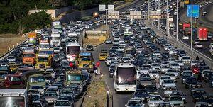 واژگونی و حریق تریلی حامل سوخت در جاجرود