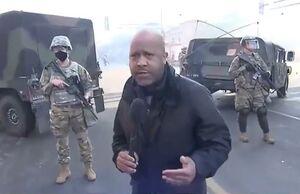 فیلم/ حضور سربازان گارد ملی در مینیاپولیس