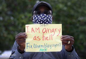 بیکاری ناشی از کرونا در آمریکا