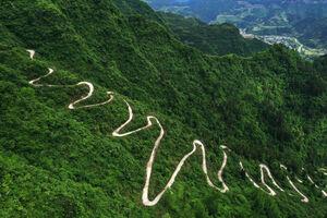 عکس/ جاده چالوس چینیها