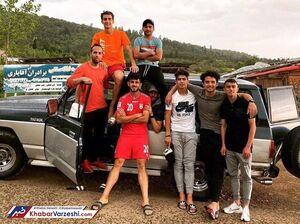 تفریح دستهجمعی فوتبالیستها در اوج کرونا! +عکس