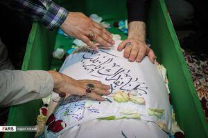 عکس/ وداع با فرمانده گردان فاتحین