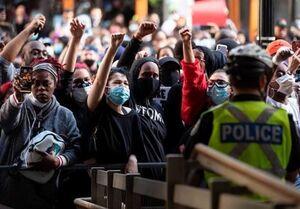 فیلم/ حضور گسترده دانشآموزان آمریکایی در تظاهرات