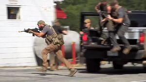 گروه های شبه نظامی فعال در آمریکا چه اهدافی را دنبال می کنند/ «لباس شخصی»ها  به کمک ترامپ آمدند +عکس و فیلم