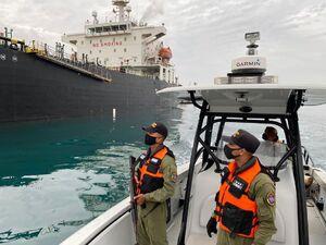 تصاویر جدید از اسکورت نفتکش ایرانی