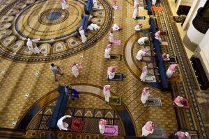 عکس/ بازگشایی مساجد عربستان