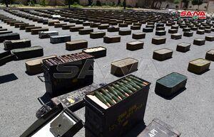 کشف موشک و اسلحه آمریکایی از تروریستهای سوریه+عکس