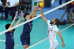 دیدار ایران و کره، میان ۵ بازی جذاب والیبال جهان