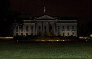 عکس/ خاموشی کاخ سفید پس از یک شب ناآرام