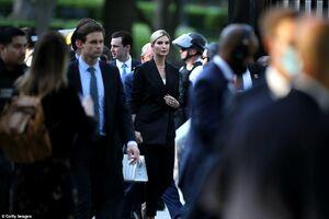 عکس/ حضور دختر ترامپ در خیابانهای واشنگتن