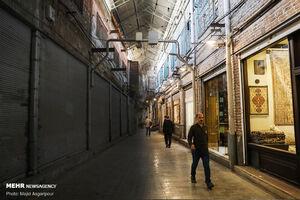 عکس/ تاریک و روشن بازار تهران