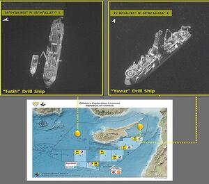 درس بزرگ «جنگ گازی» شرق مدیترانه برای ایران/ ضعف نیروی دریایی لبنان و قبرس جلوی کسب درآمد میلیارد دلاری را گرفت +تصاویر ماهوارهای