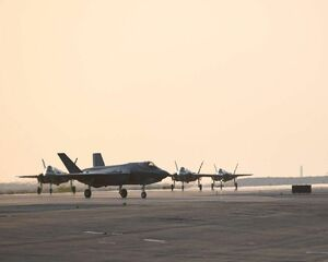 جنگندههای F۳۵ نیروی هوایی امریکا وارد امارات شدند +عکس