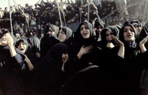 تصاویر تشییع پیکر مطهر امام خمینی(ره)