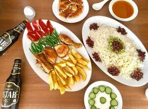 رئیس مجلس کجا غذا میخورد؟ +عکس