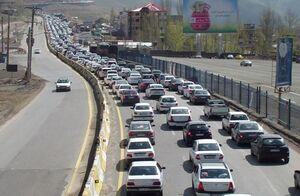 ترافیک فوق سنگین به سمت شهرهای شمالی کشور