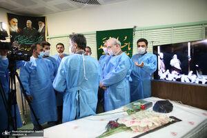 فیلم/ وزیر بهداشت در بیمارستان جماران