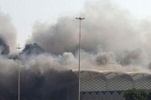 جزئیات آتشسوزی پارکینگ واگنهای رجاء در اسلامشهر