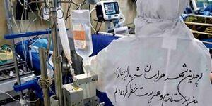 پرستار گناوهای به کاروان شهدای مدافع سلامت پیوست + عکس