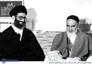 تصویری که امام خمینی برای رهبر انقلاب امضا کردند+ عکس