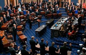 رهبر اکثریت سنا با قطعنامه محکومیت ترامپ مخالفت کرد